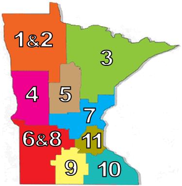 MSC Region Map